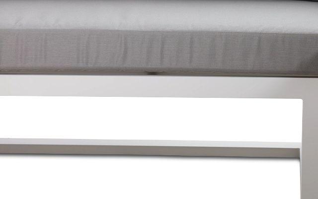 Lisbon Gray Aluminum Small Left Sectional