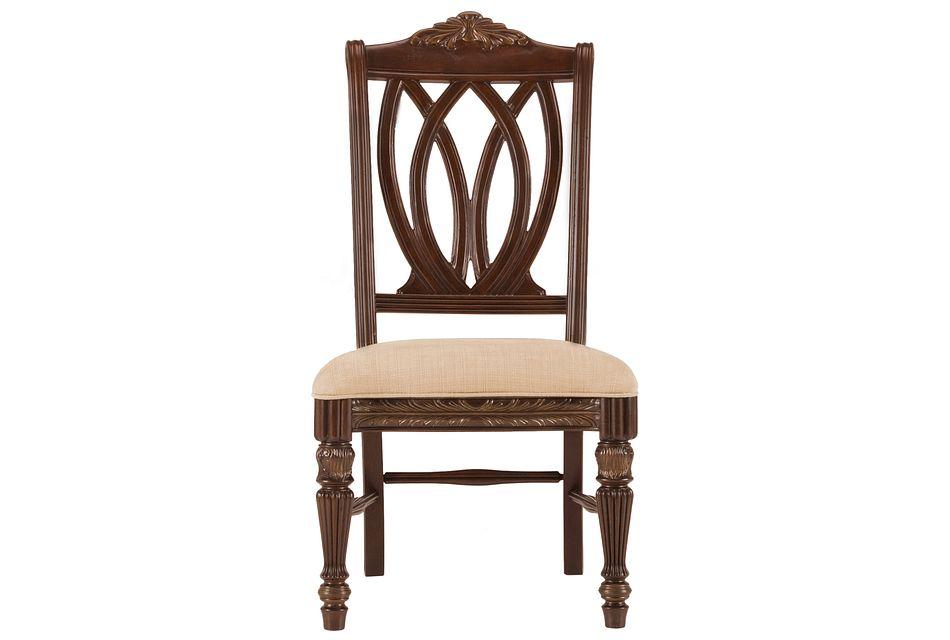 Tradewinds Dark Tone Wood Side Chair