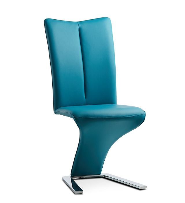 Catalina Teal Upholstered Side Chair (1)