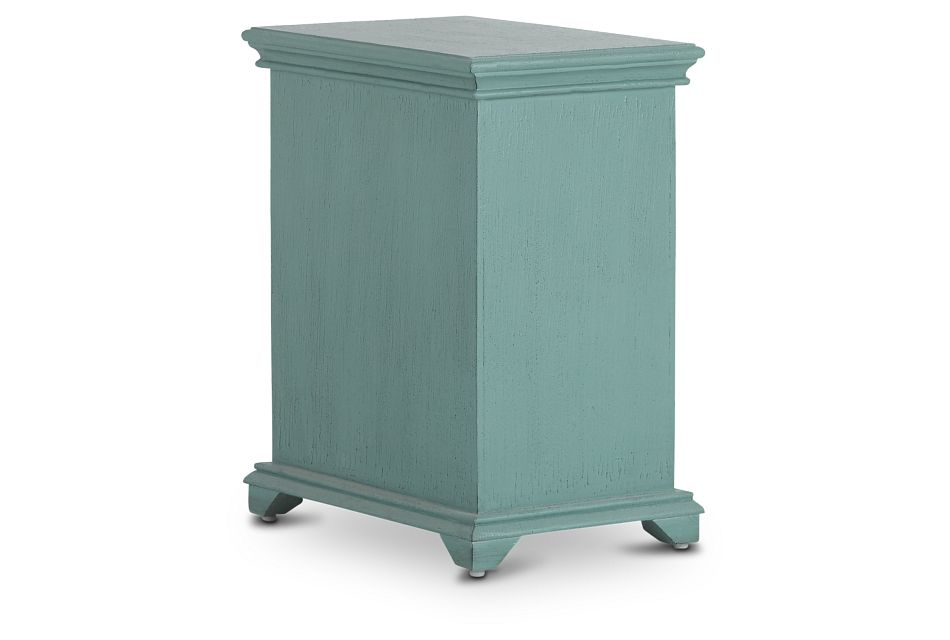 Alexis Teal Small Cabinet
