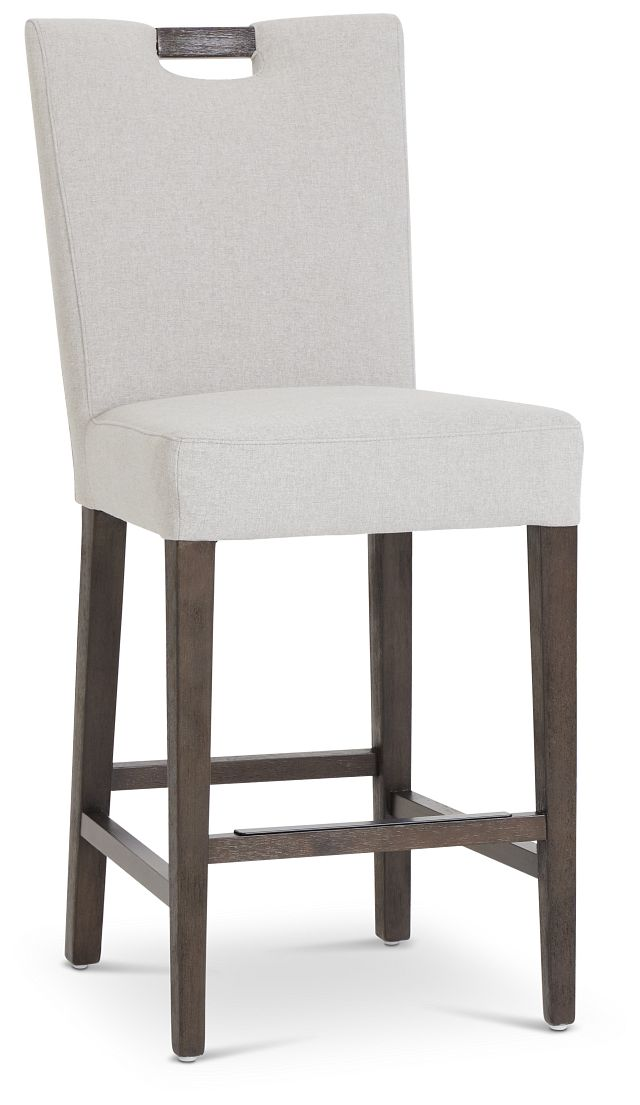 """Stout Light Gray 24"""" Upholstered Barstool (1)"""