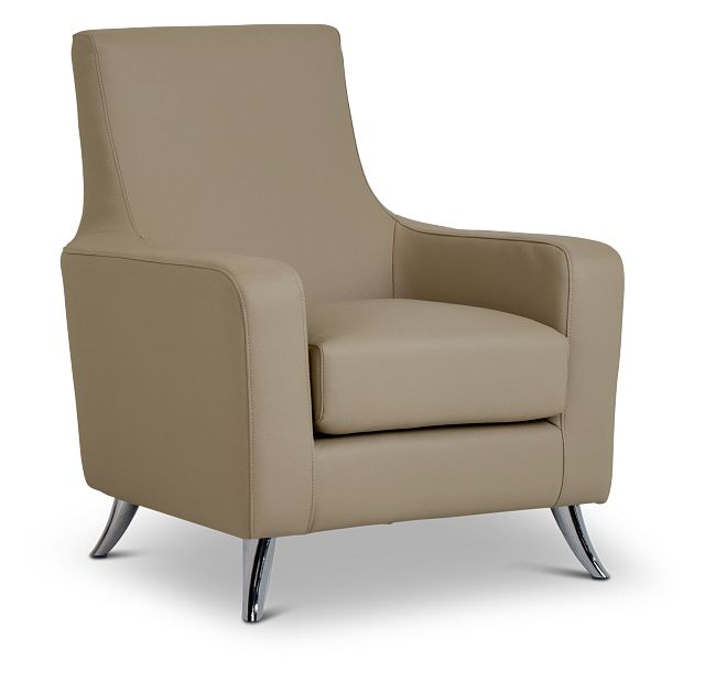 Marquez Taupe Micro Accent Chair (1)