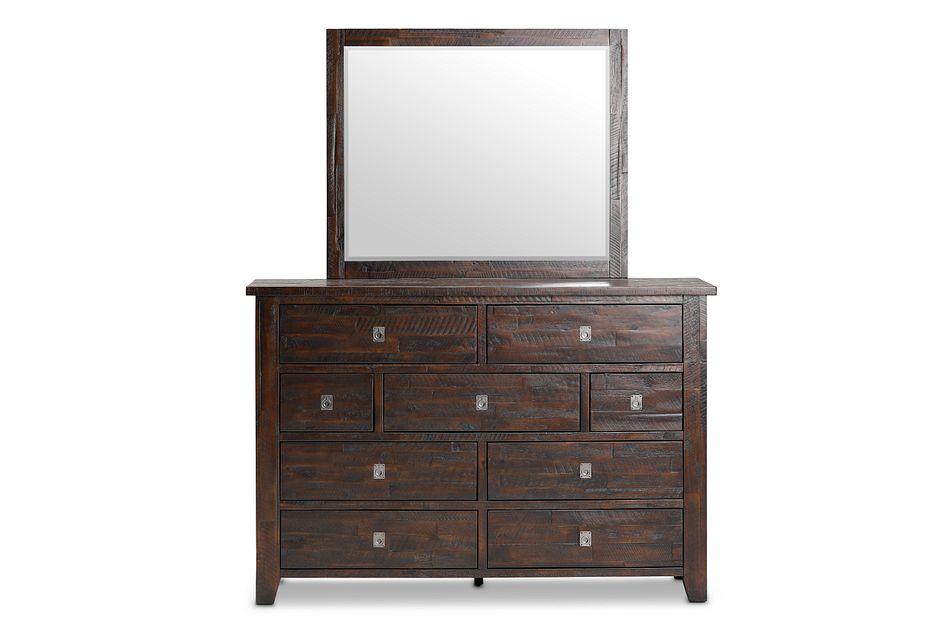 Kona Grove Dark Tone Dresser Amp Mirror