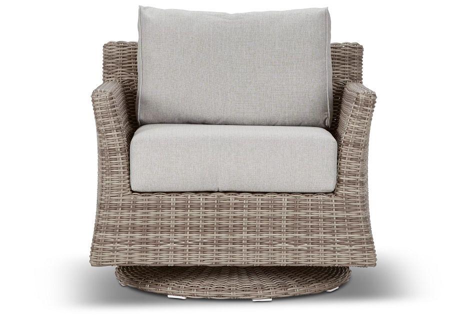 Raleigh Gray Swivel Chair,  (3)