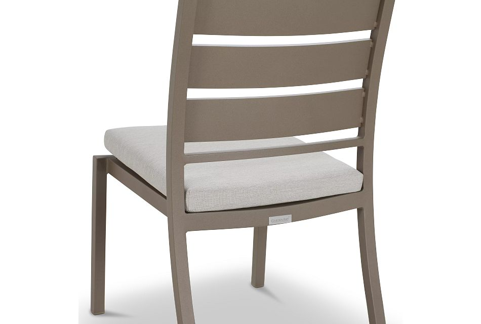 Raleigh White Aluminum Side Chair