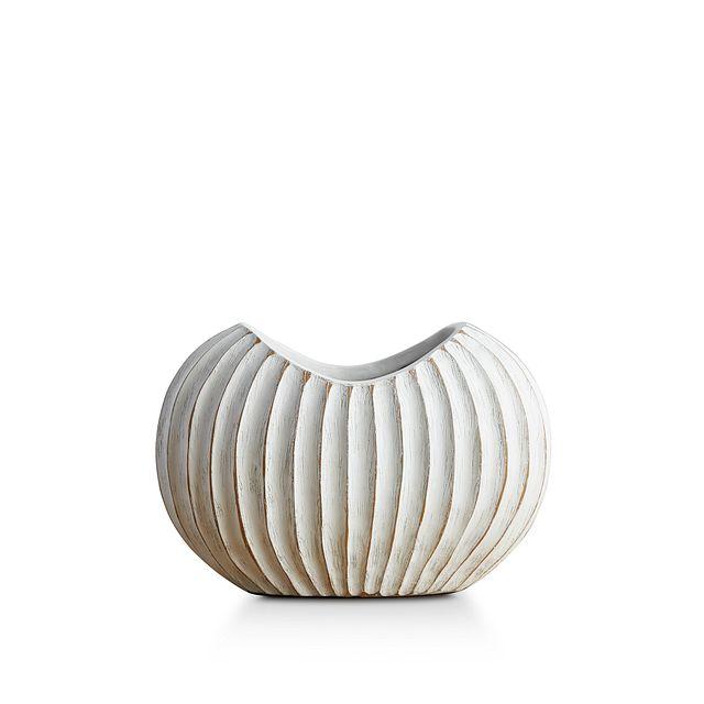 Wes White Vase (1)