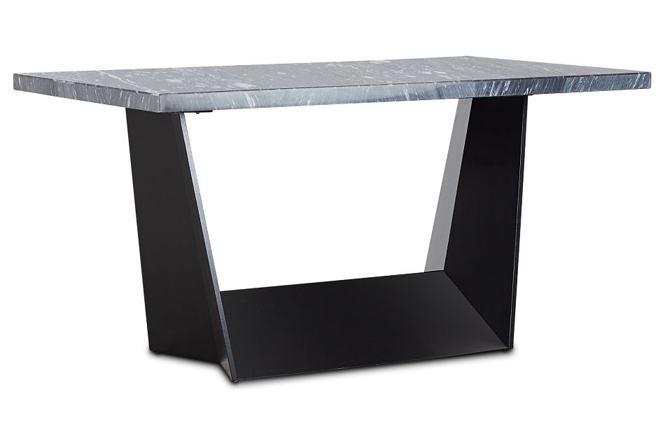 Auburn Dark Gray Marble High Dining Table, %%bed_Size%% (2)