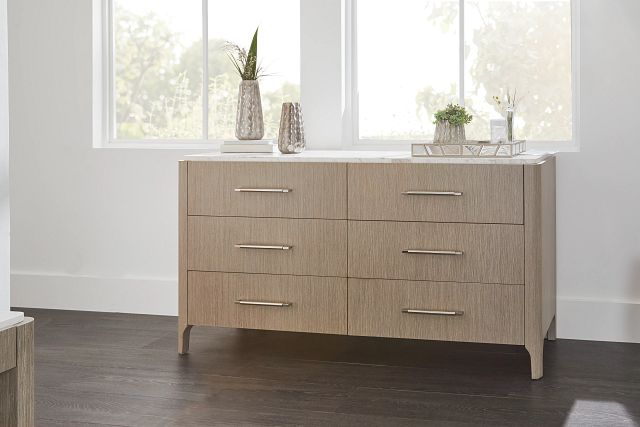 Soren White Dresser