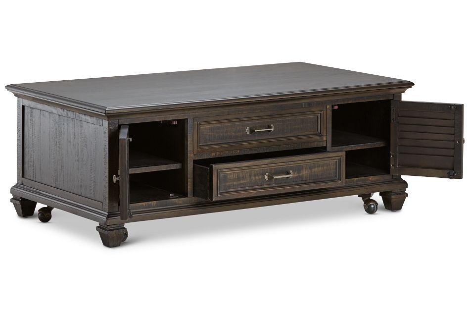 Sonoma Dark Tone Lift Coffee Table