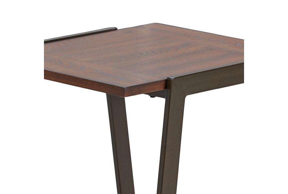 Kacey Dark Tone End Table