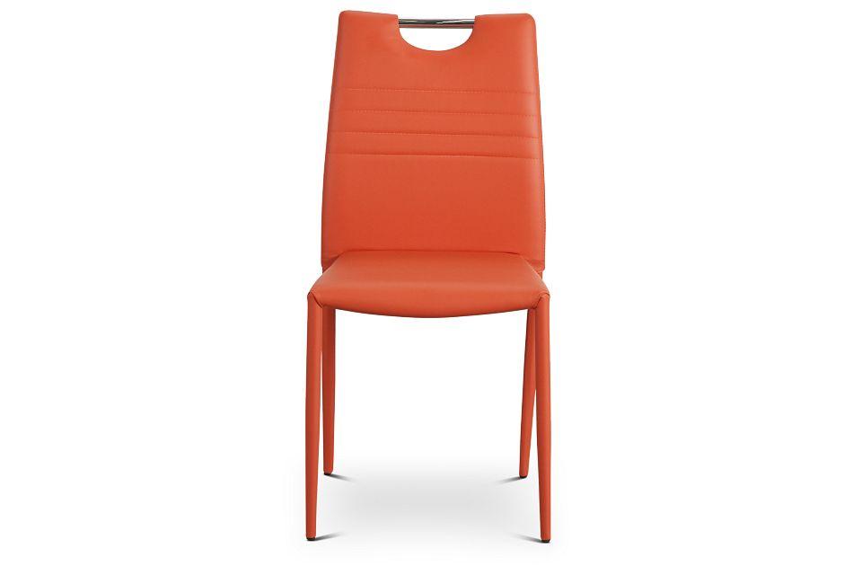 Skyline Orange Upholstered Side Chair