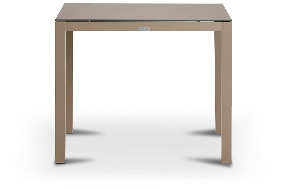 """Lisbon Khaki 36"""" Square Table"""