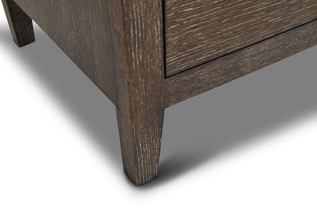 Linea Dark Tone Dresser & Mirror