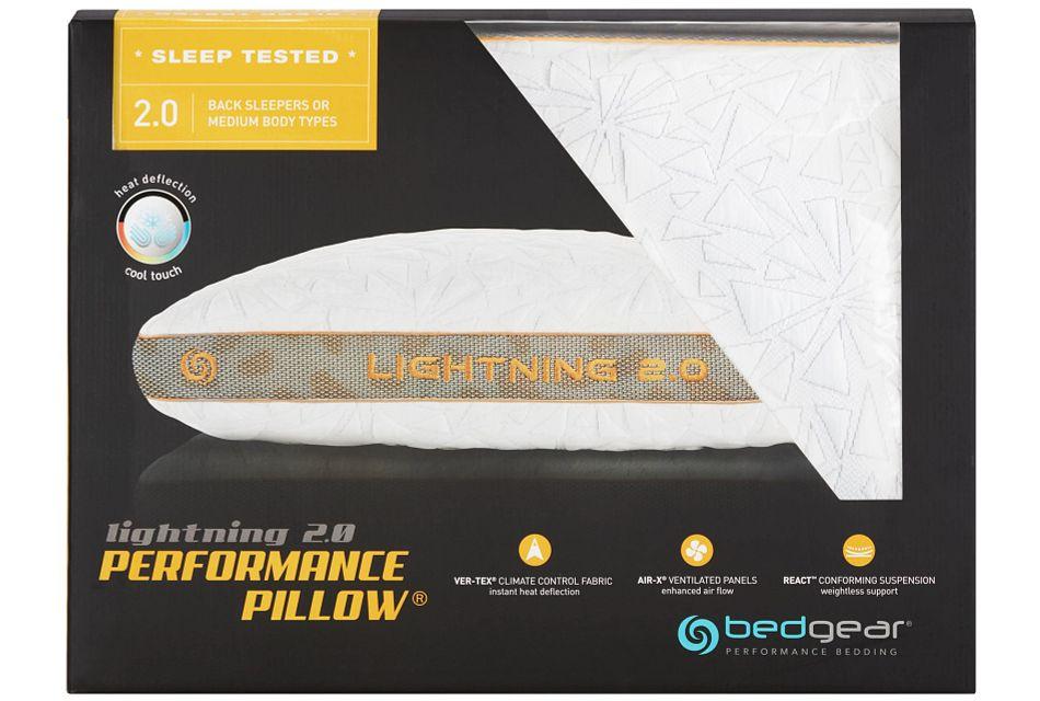 Lightning   Back Sleeper Pillow