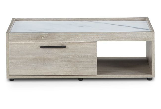 Sebastian Light Tone Storage Coffee Table
