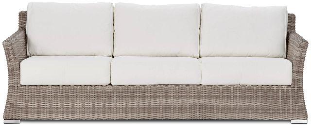 Raleigh White Woven Sofa (0)