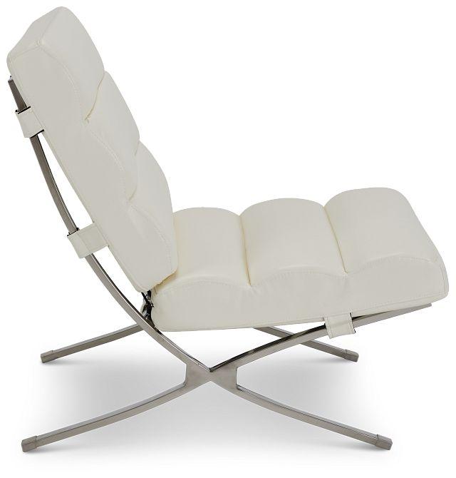 Tatiana White Micro Accent Chair (2)