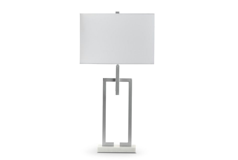 Celena Silver Table Lamp