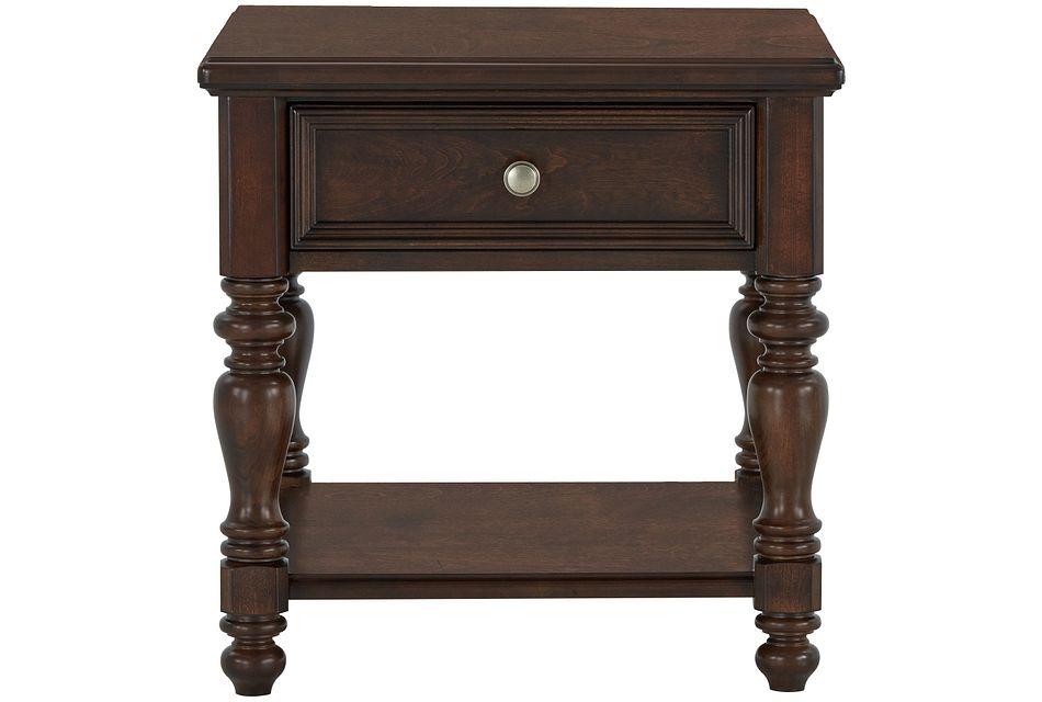 Savannah Dark Tone End Table