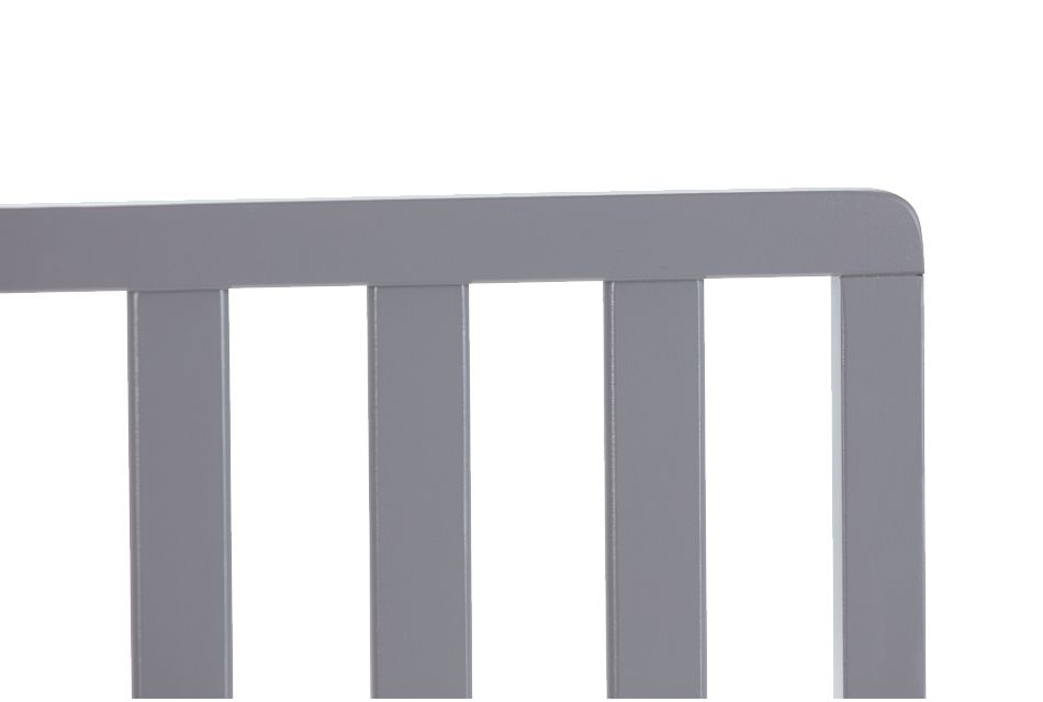 Parker Gray Toddler Guard Rail, %%bed_Size%% (1)
