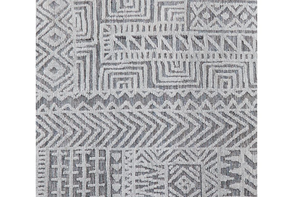 Miloh Gray 8x11 Area Rug