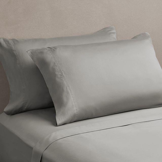 Egyptian Cotton Gray 400 Thread Sheet Set (0)