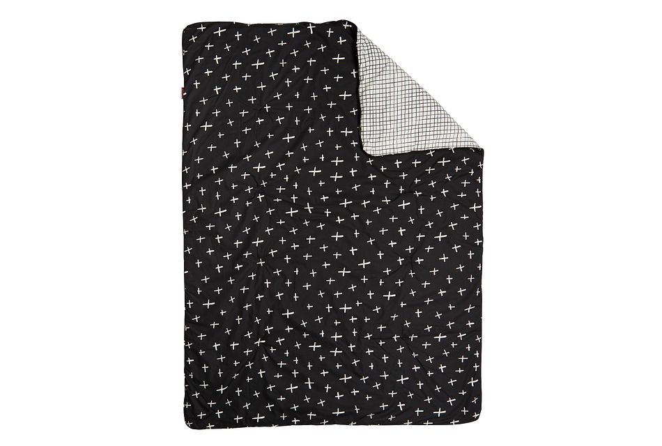 Tuxedo Black 5 Piece Crib Bedding Set