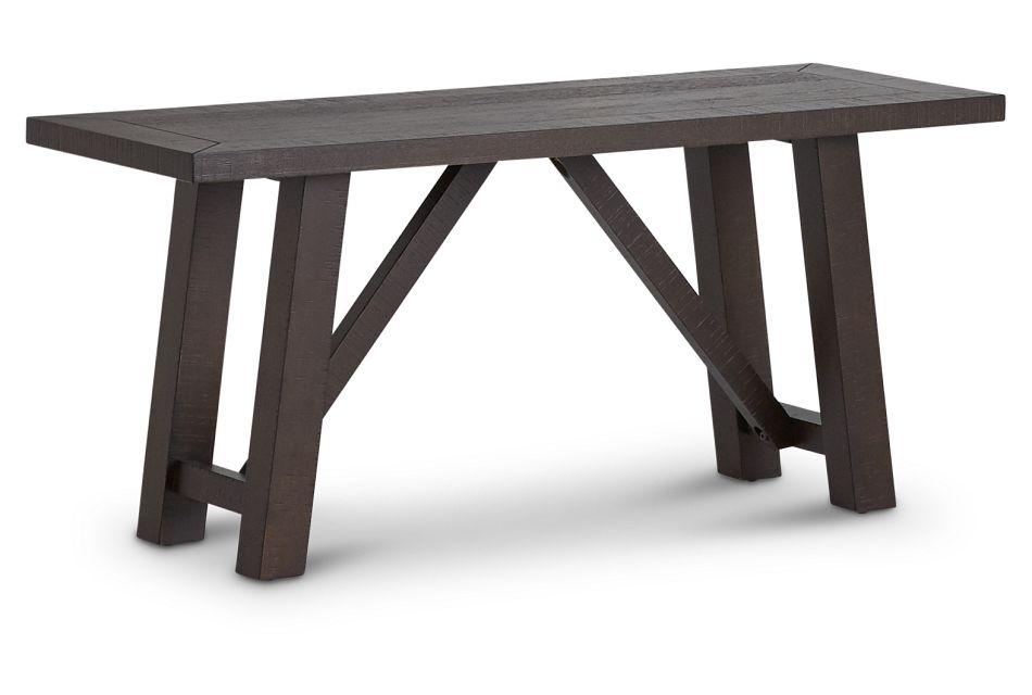 Cash Gray Dining Bench