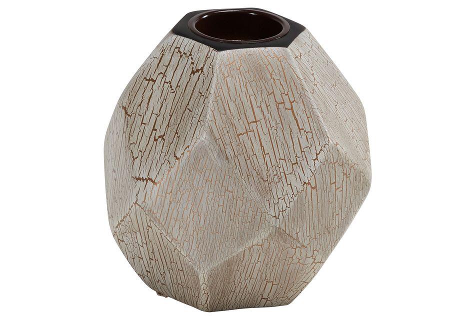 Emma White Vase