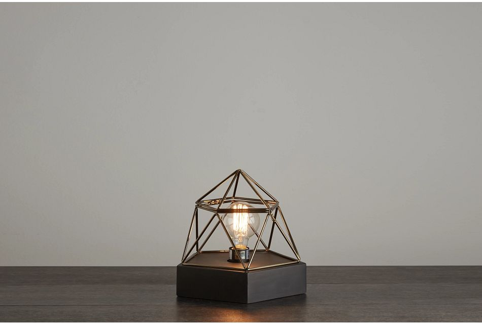 Saros Cement Table Lamp