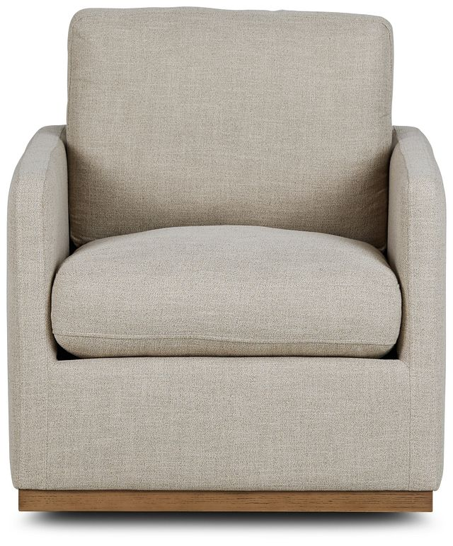 Richie Pewter Micro Swivel Chair (2)