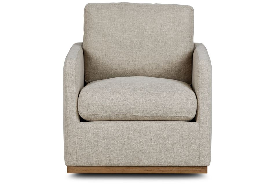 Richie Pewter Micro Swivel Chair