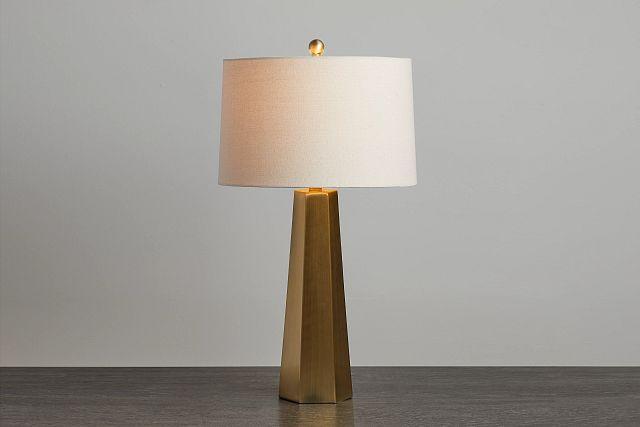 Marsham Light Beige Table Lamp (0)
