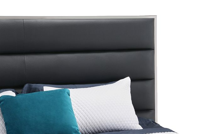 Cortina Black Uph Platform Bed (0)