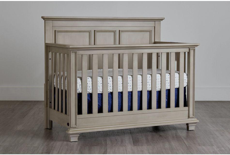 Kenilworth2 Light Tone 4-In-1 Crib,  (0)