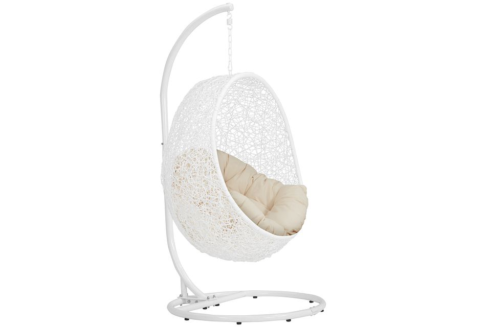 Orchid Light Beige   Hanging Chair