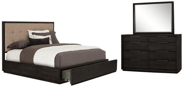 Madden Dark Tone Platform Storage Bedroom (0)