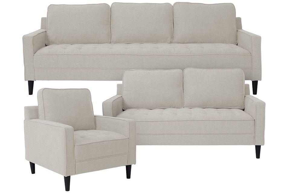 Eli Taupe Micro Large Living Room