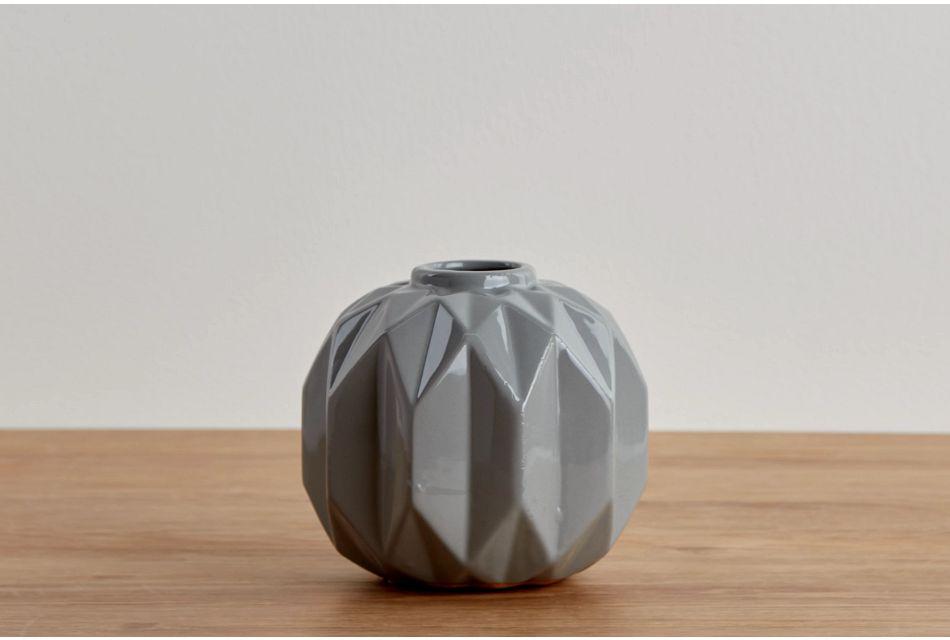 Azha Medium Gray Vase