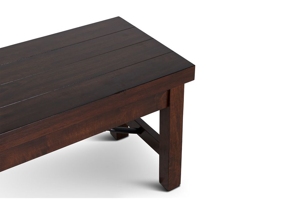 Napa Dark Tone Storage Dining Bench