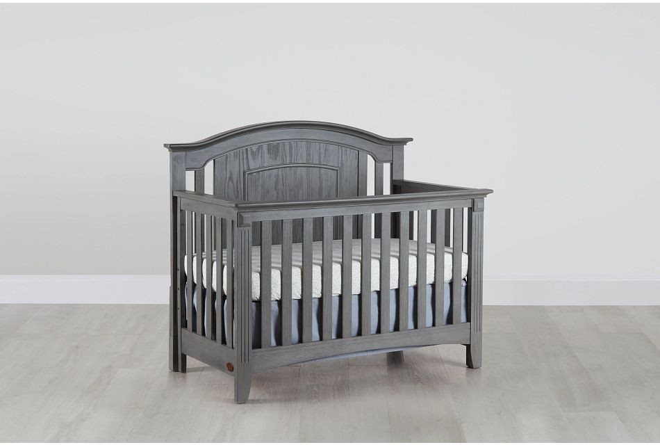 Willowbrook2 Gray 4-in-1 Crib,  (0)