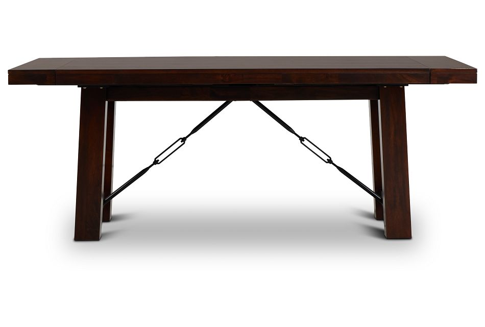 Napa Dark Tone Rectangular Table,  (1)