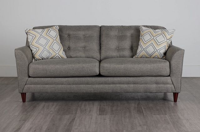 Jensen Dark Gray Fabric Sofa (0)