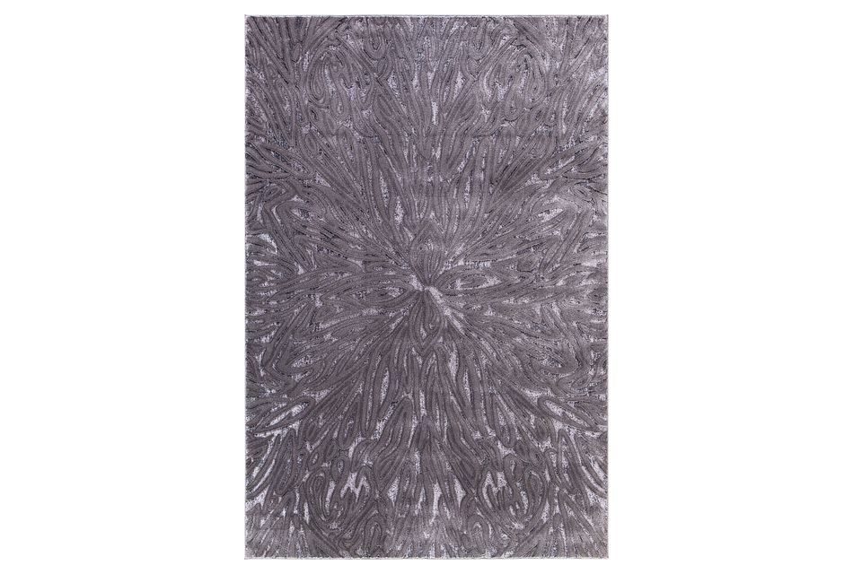 Lofton Dark Gray 8x10 Area Rug