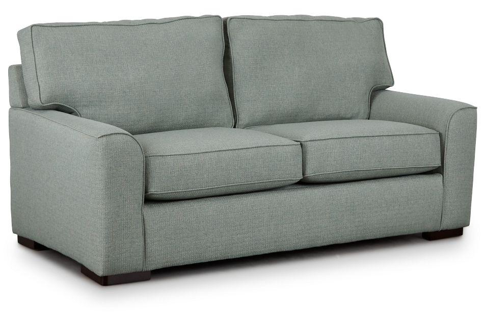 Austin Green Fabric Innerspring Sleeper, Full (2)