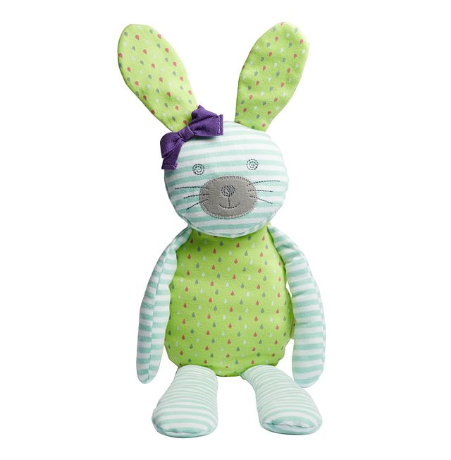 """Bunny Teal 18"""" Plush Toy"""