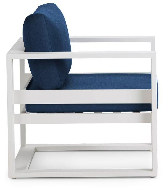 Lisbon Navy Aluminum Chair (1)
