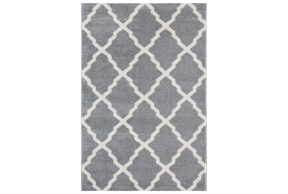 Brooklyn Gray 5x8 Area Rug