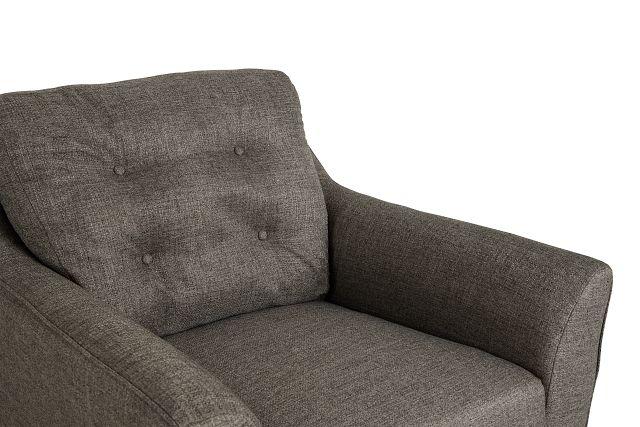 Jensen Dark Gray Fabric Chair