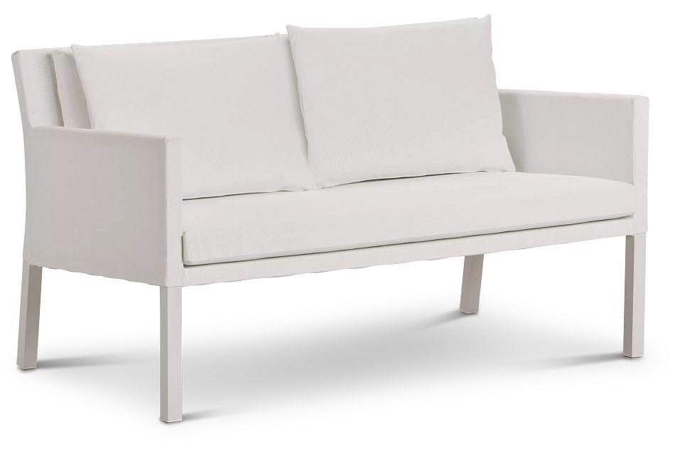 Lisbon2 White Sofa,  (1)